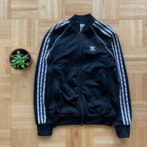⚫️⚪️ Adidas Essential Full-Zip Sweater (Sz S)